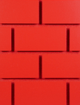 Real Red-painted Brickyard part of Windmill Slatwall's Brick Series