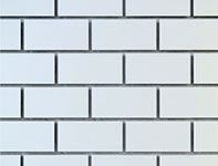 White Subway Tile part of Windmill Slatwall's Brick Series